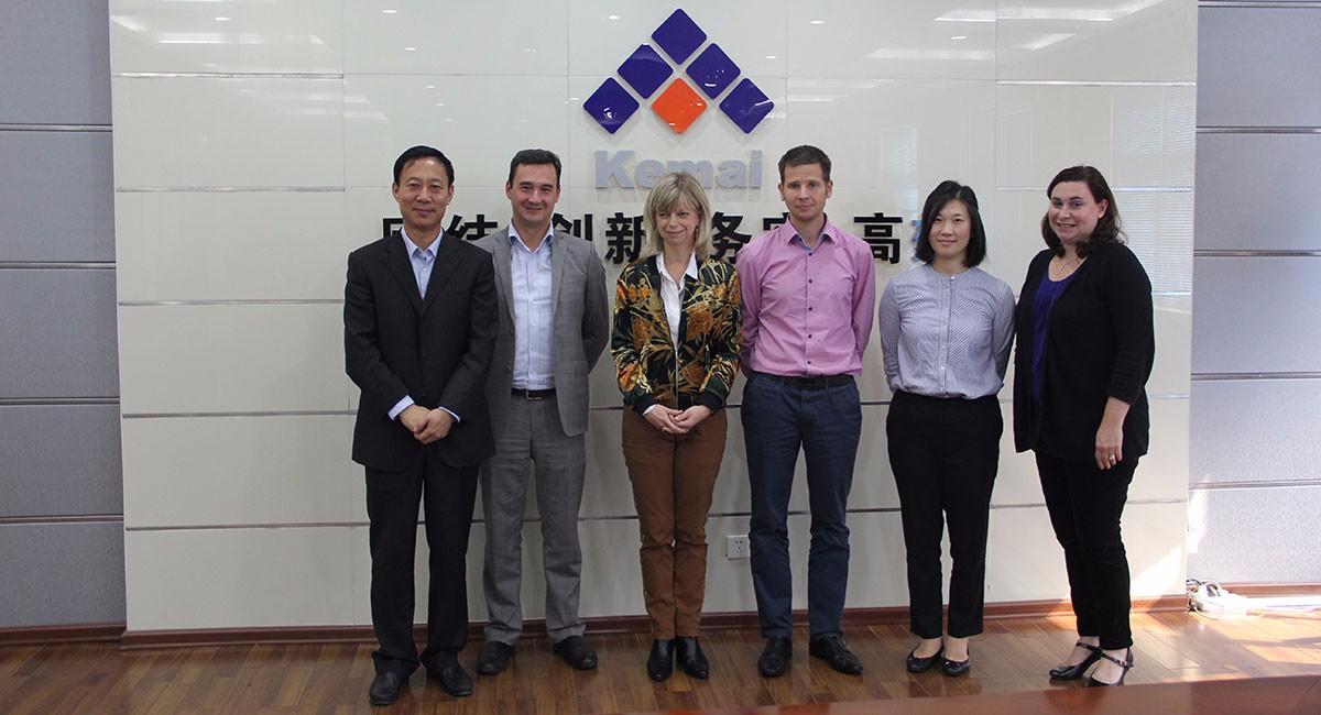 米其林采购团队访问科迈天津生产基地