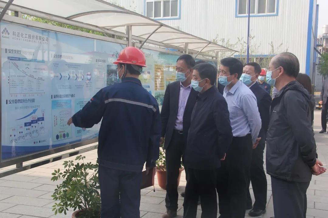 国务院安委会考核巡查组调研科迈天津工厂安全生产工作